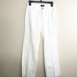 NYDJ White Linen  lift tuck technology Pants  J118